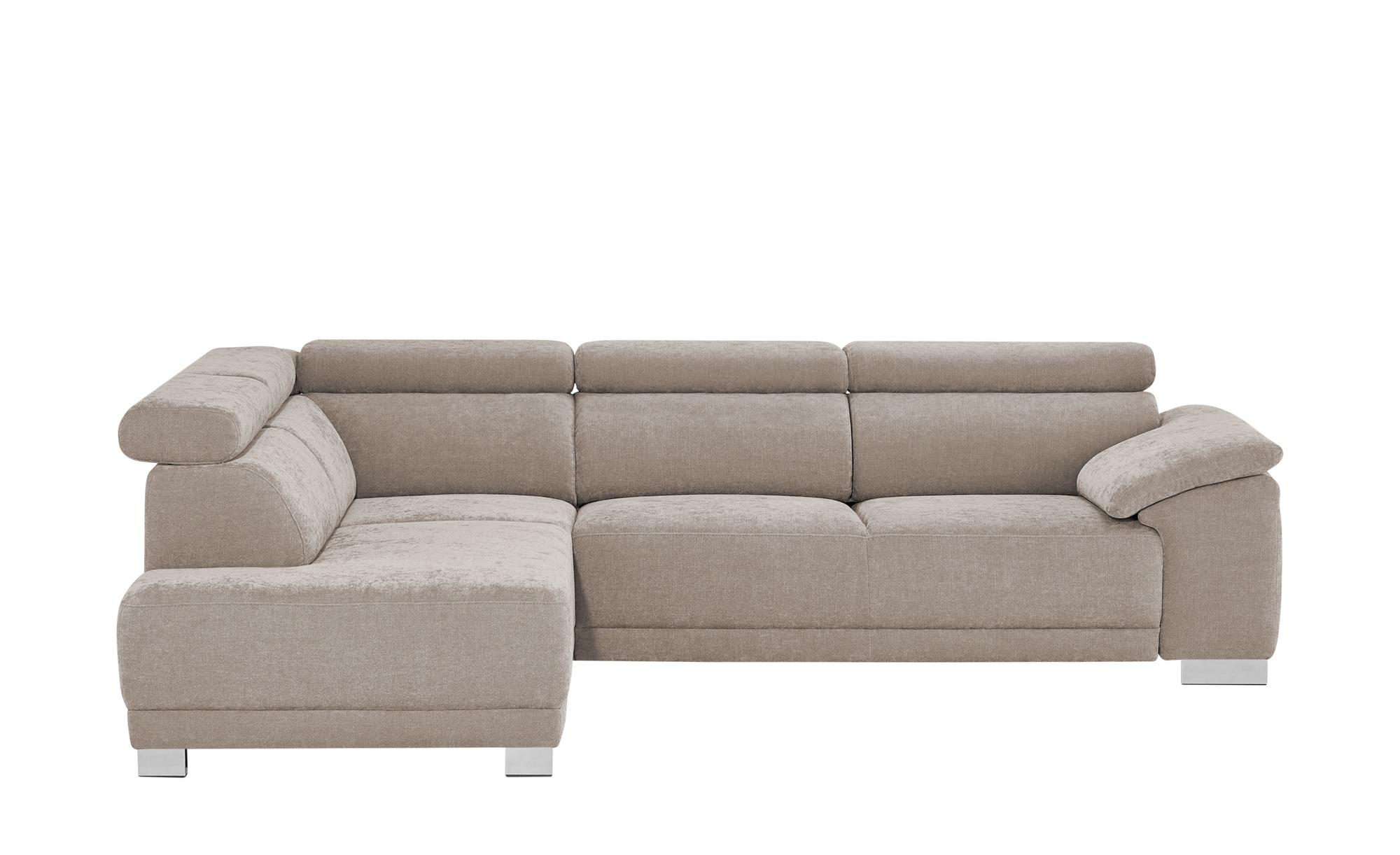 Ecksofa - grau - Polstermöbel > Sofas > Ecksofas - Möbel Kraft günstig online kaufen