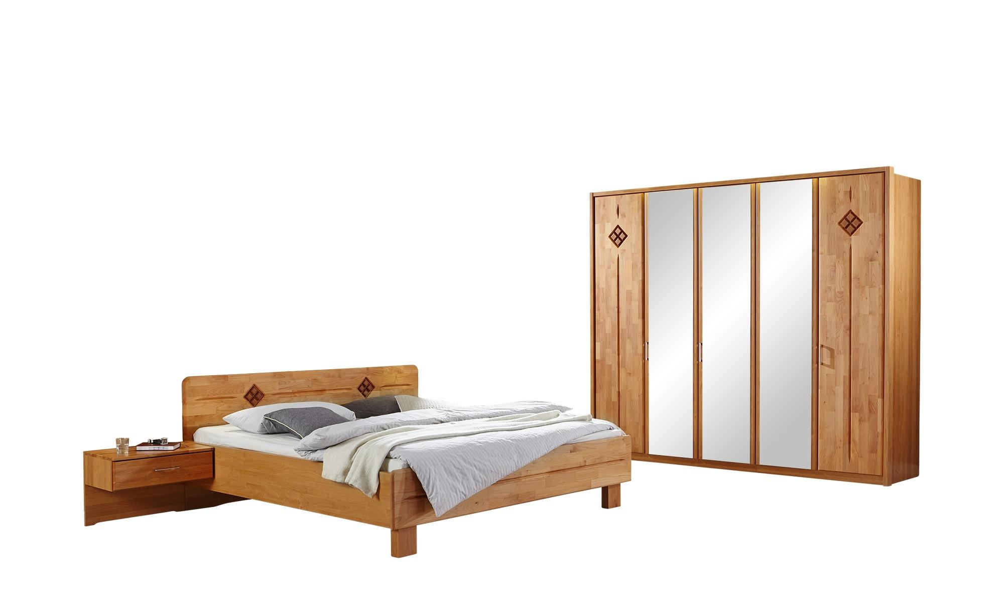 Woodford Komplett-Schlafzimmer 4-tlg.  Genua ¦ holzfarben Komplett-Schlafzi günstig online kaufen