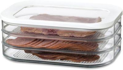 Mepal Kühlschrankdose Aufschnitt 3x550 ml  Modula ¦ transparent/klar ¦ Kuns günstig online kaufen
