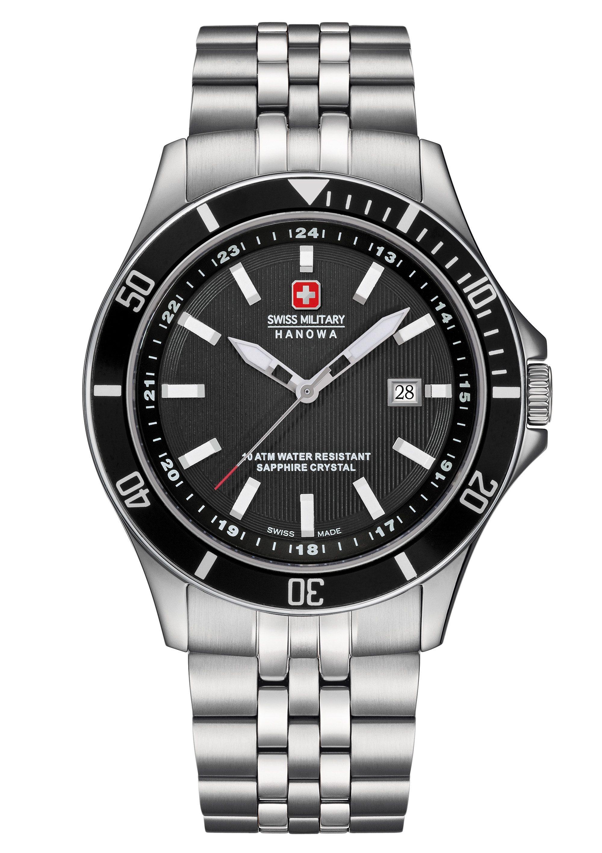 Swiss Military Hanowa Schweizer Uhr FLAGSHIP, 06-5161.2.04.007 günstig online kaufen