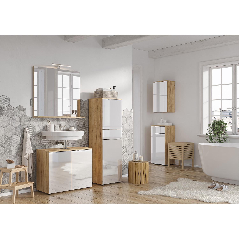 GERMANIA Waschbeckenunterschrank »Avino« Breite 70 cm, Glasfronten, Soft-Cl günstig online kaufen