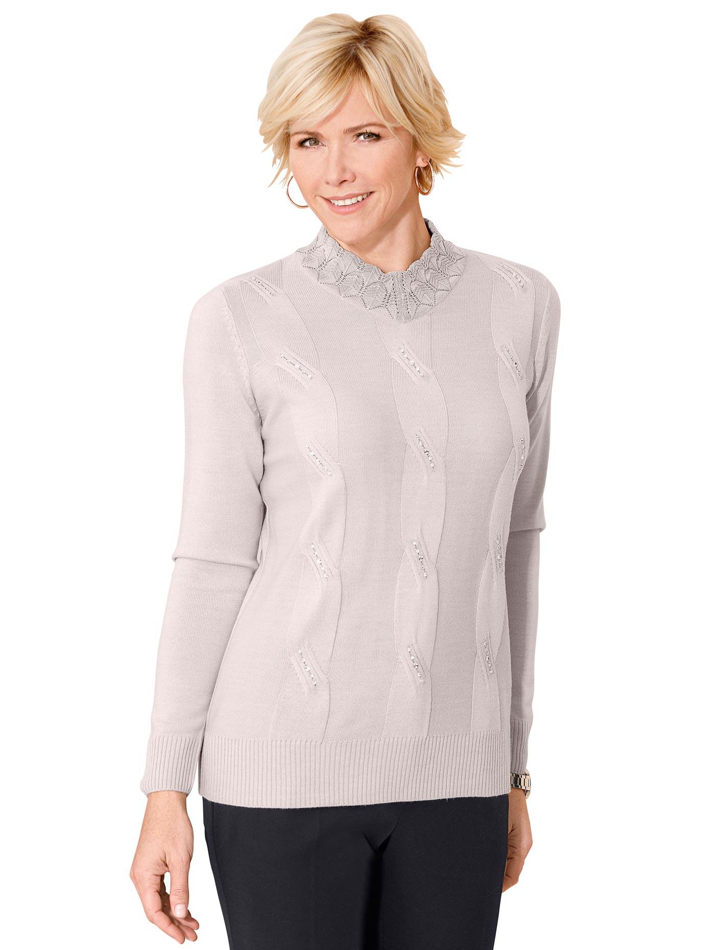 Classic Stehkragenpullover »Pullover« günstig online kaufen