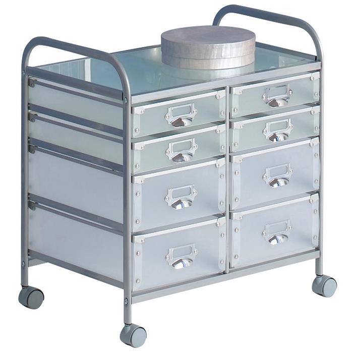 Rollcontainer ROLI mit 8 Schubladen günstig online kaufen