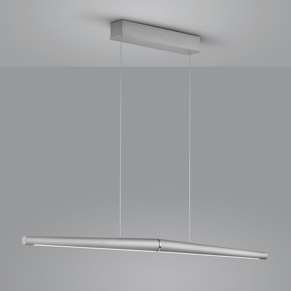 LED Pendelleuchte Möwe in Chrom 20W 1690lm günstig online kaufen