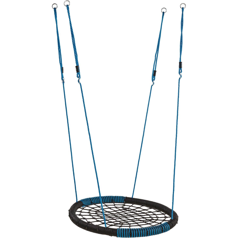 Nestschaukel Oval Schwarz-Blau günstig online kaufen