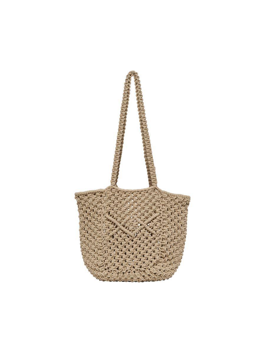 ONLY Strandtasche Tasche Damen Beige günstig online kaufen