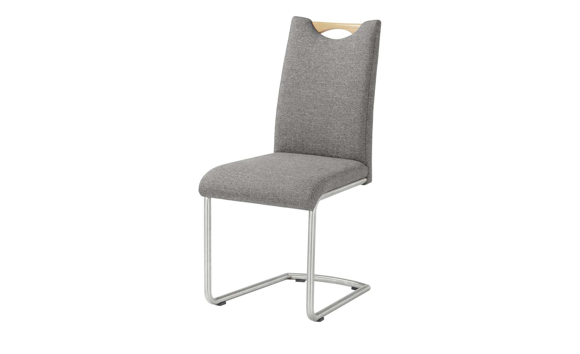 Wohnwert Freischwinger  Paavo ¦ grau Stühle > Freischwinger - Höffner günstig online kaufen