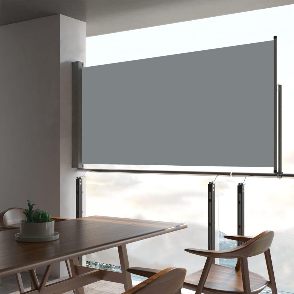 Ausziehbare Seitenmarkise 80×300 Cm Grau günstig online kaufen