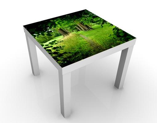 Beistelltisch Natur & Landschaft Verborgene Lichtung günstig online kaufen