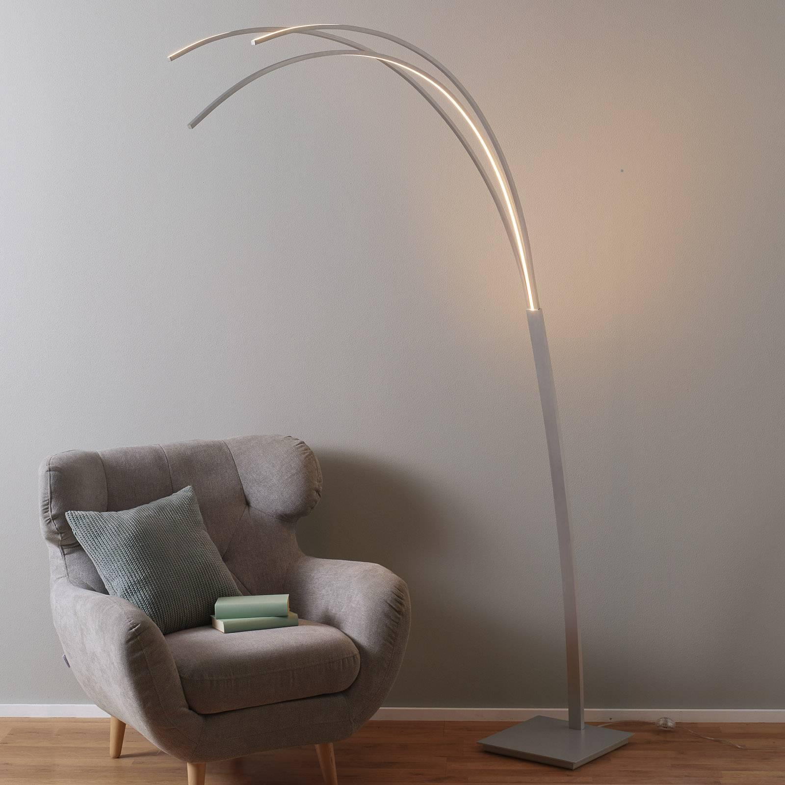 Bopp Bow - LED-Bogenleuchte, dimmbar günstig online kaufen