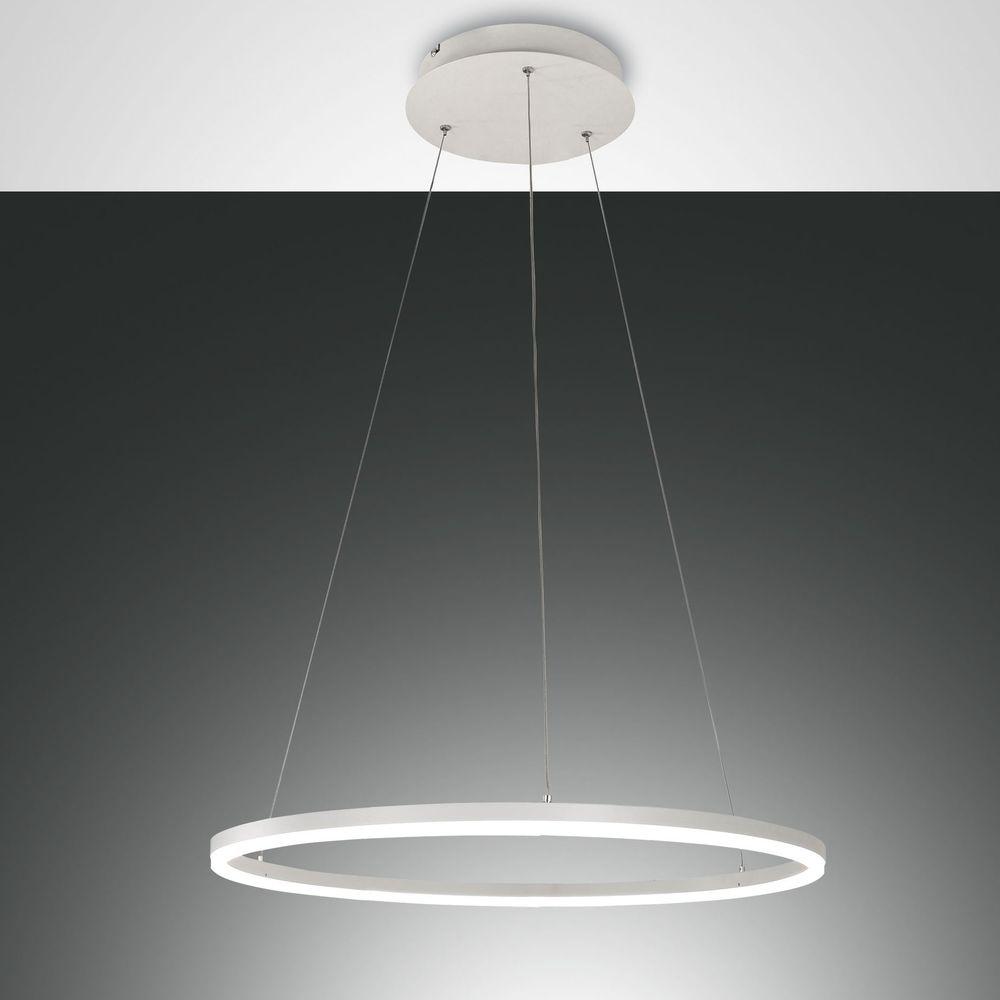 LED Pendelleuchte Giotto 36W 3240lm in Weiß günstig online kaufen