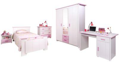 """PARISOT Kinderzimmer-Set """"Biotiful 13"""", 5-tlg Weiß-Rosa rosa/weiß günstig online kaufen"""