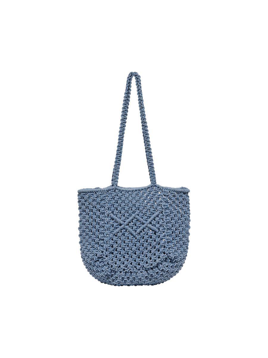 ONLY Strandtasche Tasche Damen Blau günstig online kaufen