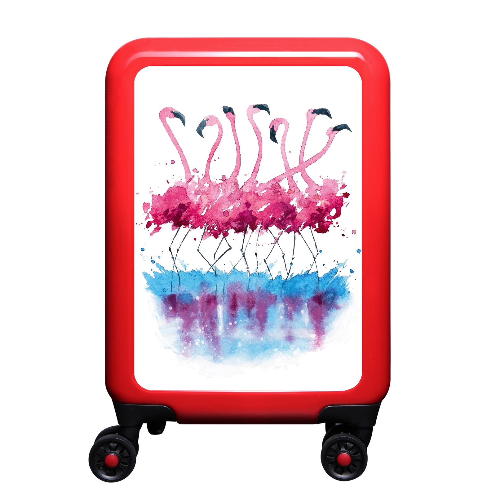 meinTrolley Handgepäck Flamingo günstig online kaufen