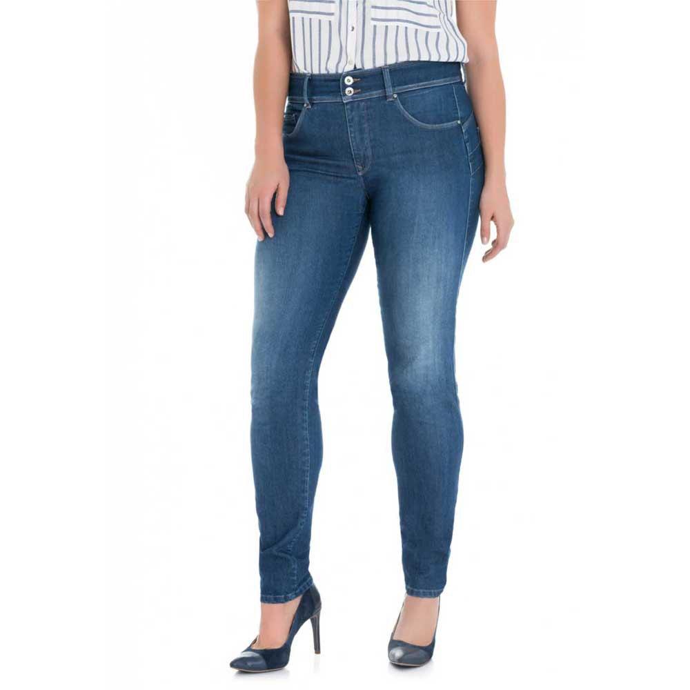 Salsa Jeans Secret Plus Push In In Medium Rinse 32 Blue günstig online kaufen