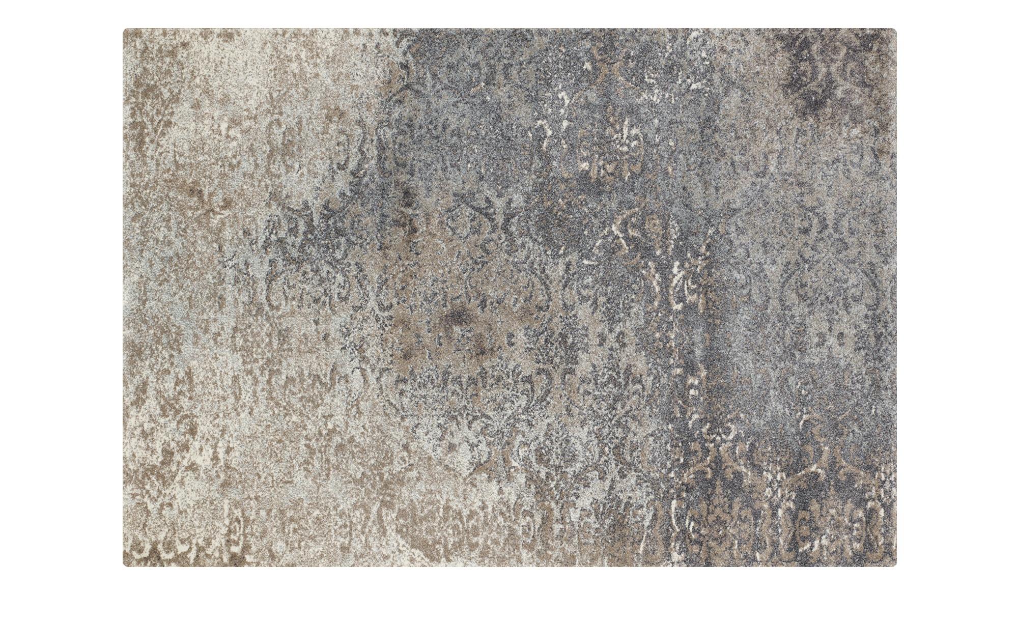 Vintage Teppich  Butterfly Admiral ¦ beige ¦ Synthethische Fasern Teppiche günstig online kaufen