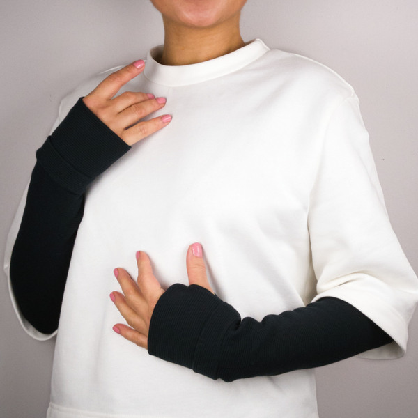 Armstulpe Black Rib günstig online kaufen