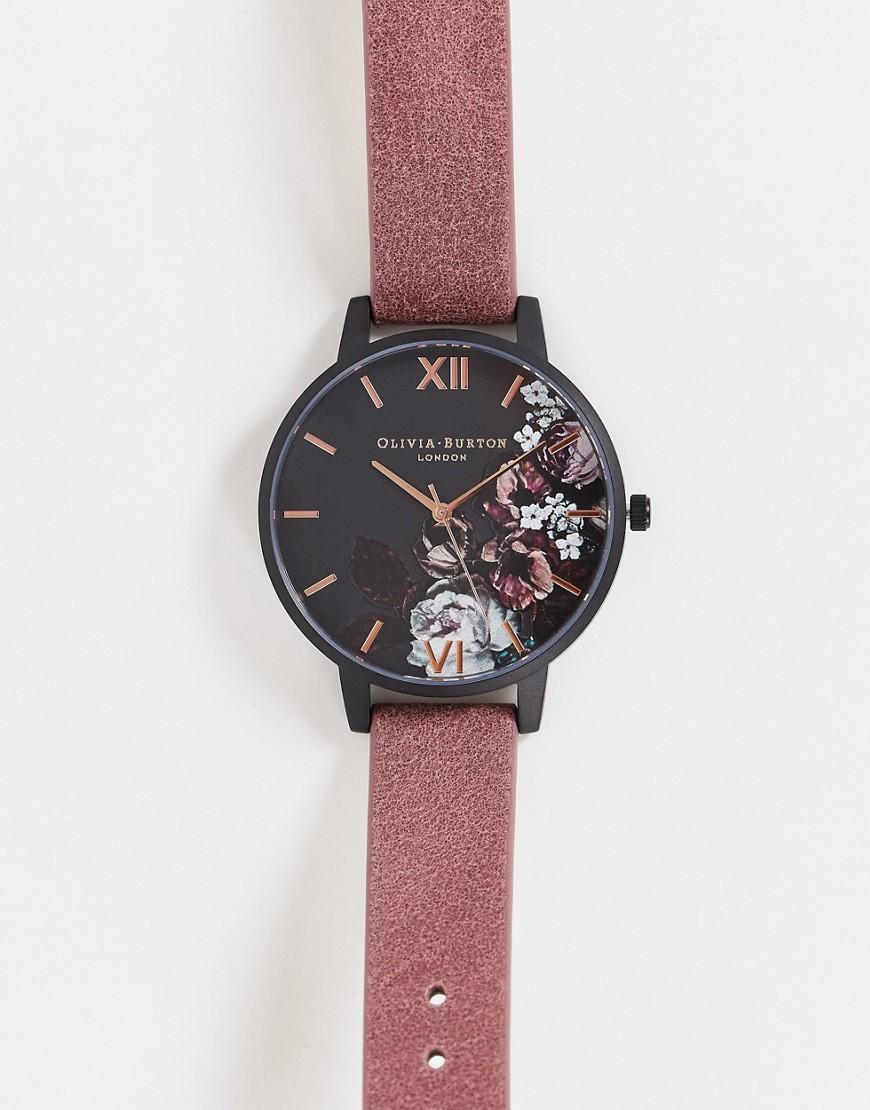 Olivia Burton – Fine Art – Armbanduhr mit floralen Details-Mehrfarbig günstig online kaufen