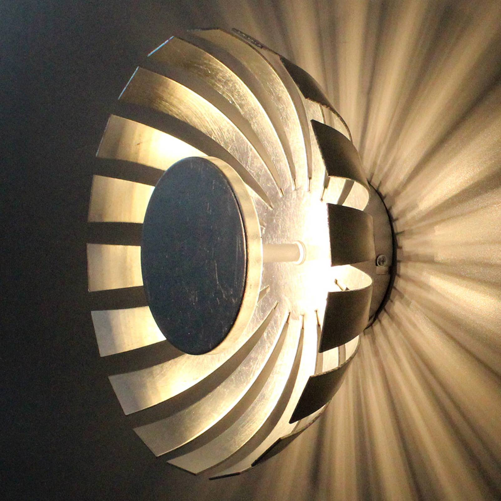 LED-Wandleuchte Flare Medium, silber günstig online kaufen