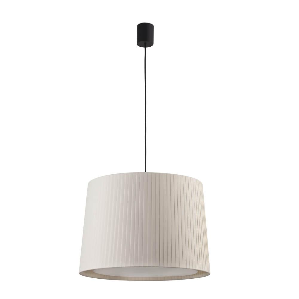 Faro Leuchten Samba Schwarz Hängelampe Lamp E27Ø500*350 Beige Lampsha, 6431 günstig online kaufen