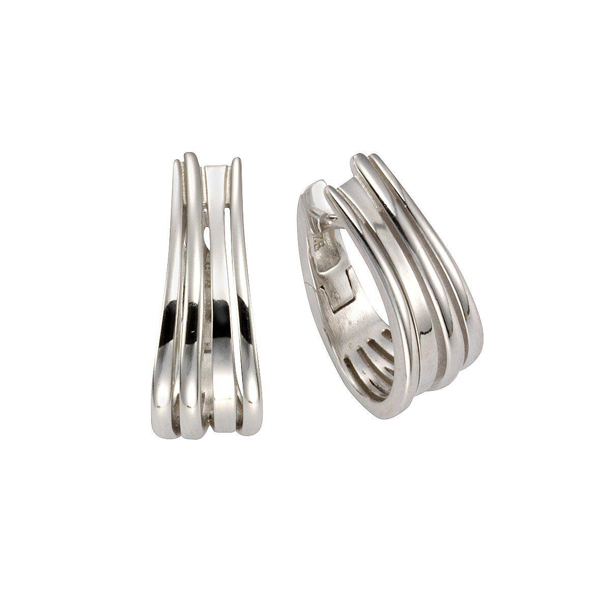 Vivance Klappcreolen »925/- Sterling Silber rhodiniert«, mit Geschenketui günstig online kaufen