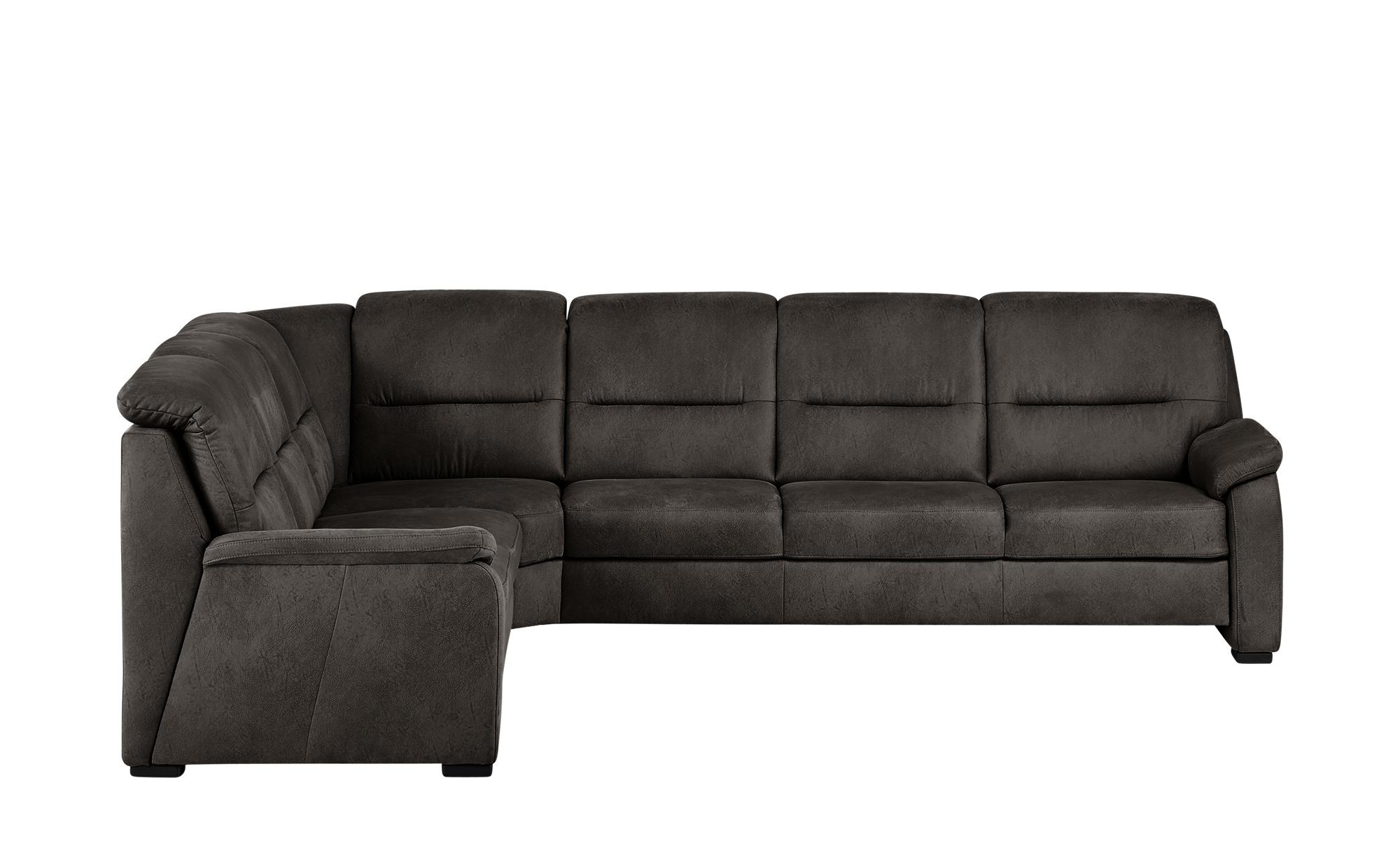 meinSofa Ecksofa  Vera - grau - Polstermöbel > Sofas > Ecksofas - Möbel Kra günstig online kaufen