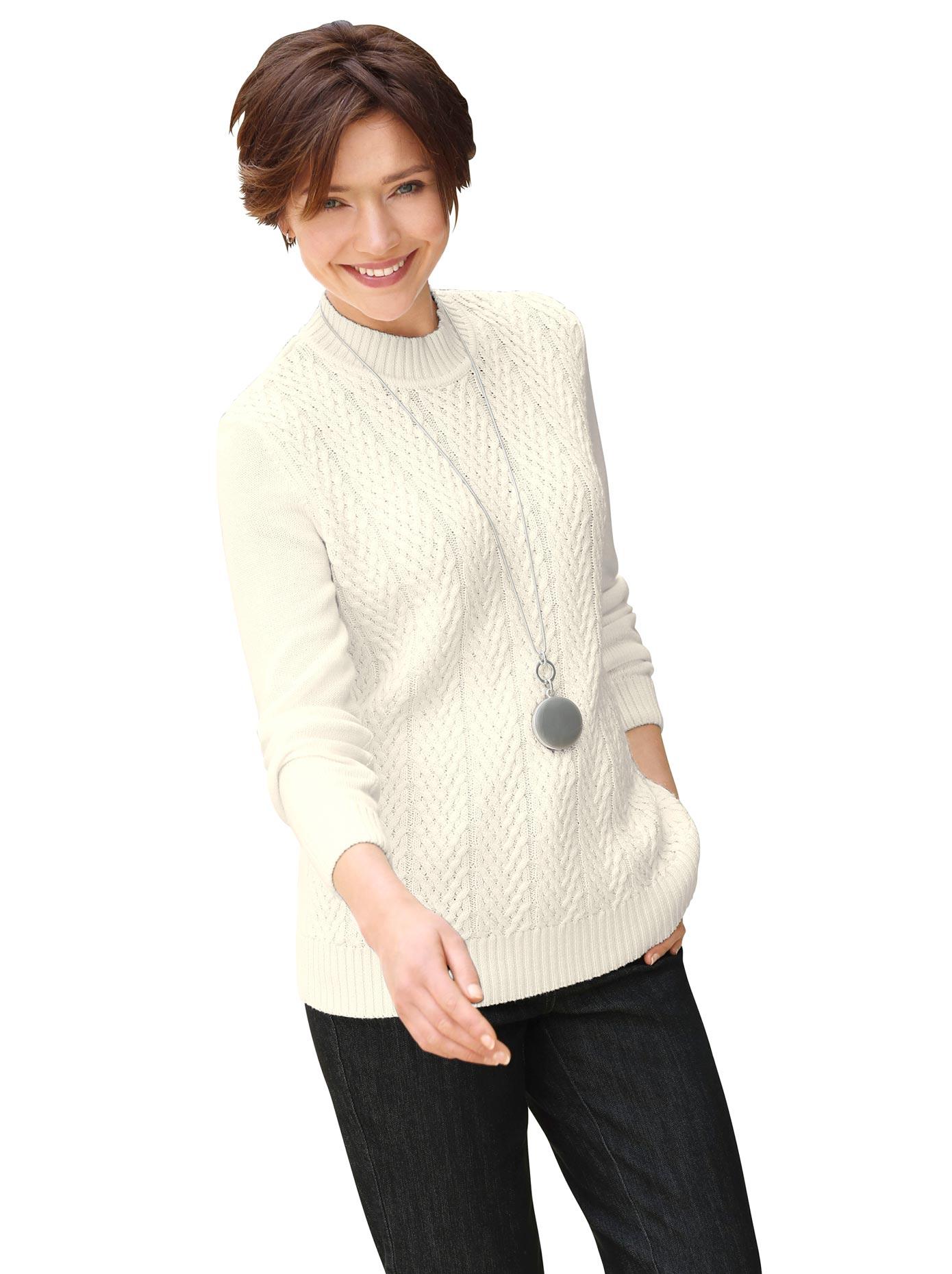 Casual Looks Stehkragenpullover »Pullover« günstig online kaufen