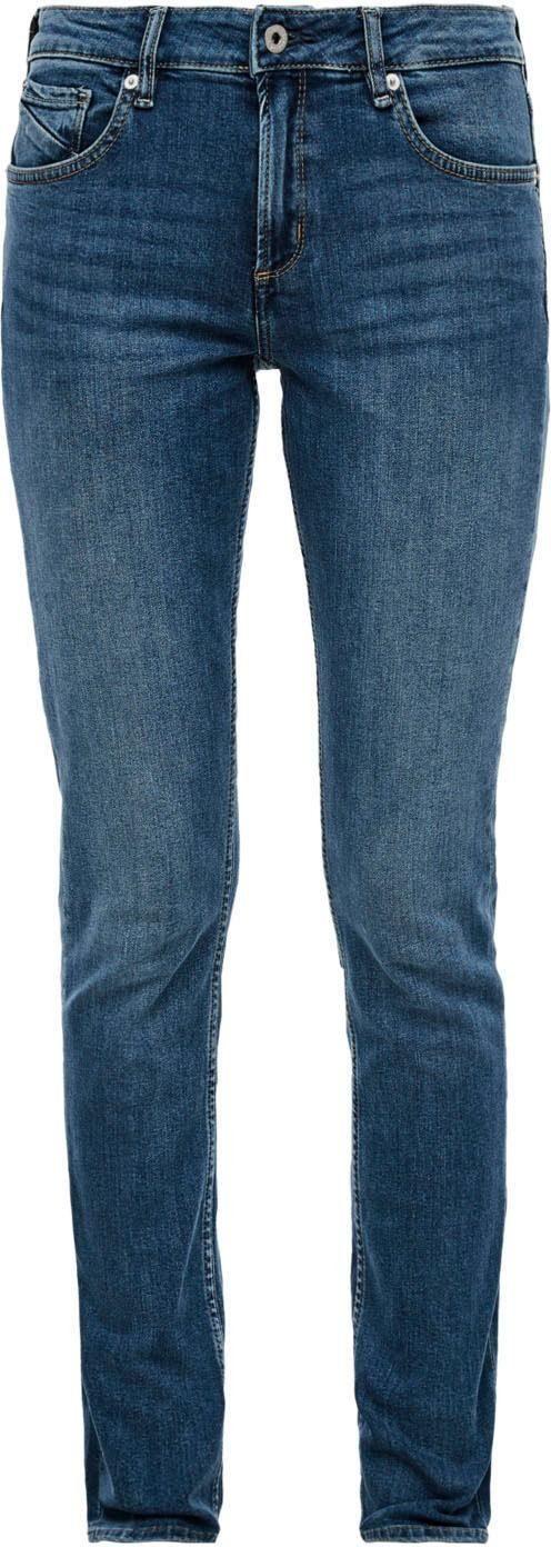 Q/S by s.Oliver Slim-fit-Jeans »Catie Slim« in typischer 5-Pocket Form günstig online kaufen