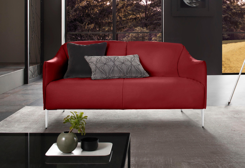 W.SCHILLIG 2-Sitzer sally, mit Metallfüßen in Chrom glänzend, Breite 154 cm günstig online kaufen