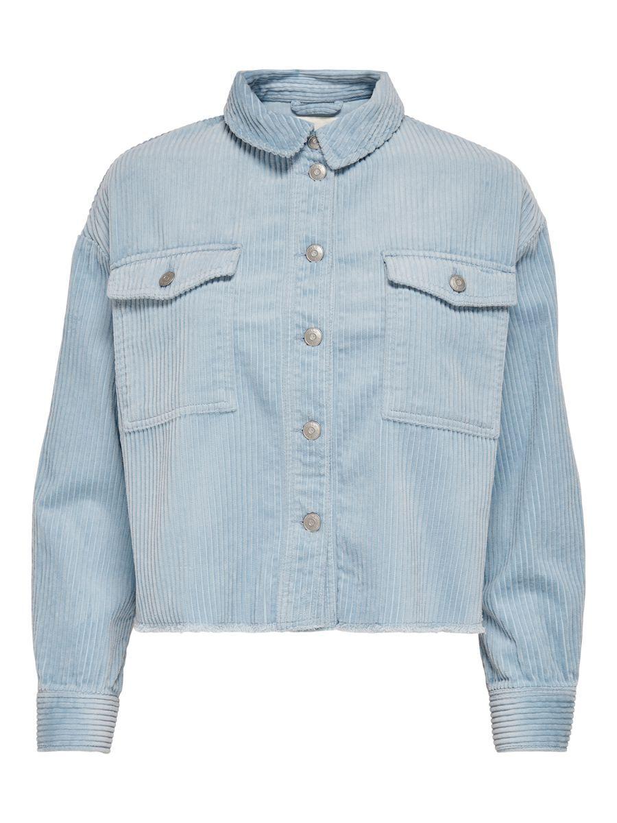 ONLY Cord Jacke Damen Grau günstig online kaufen