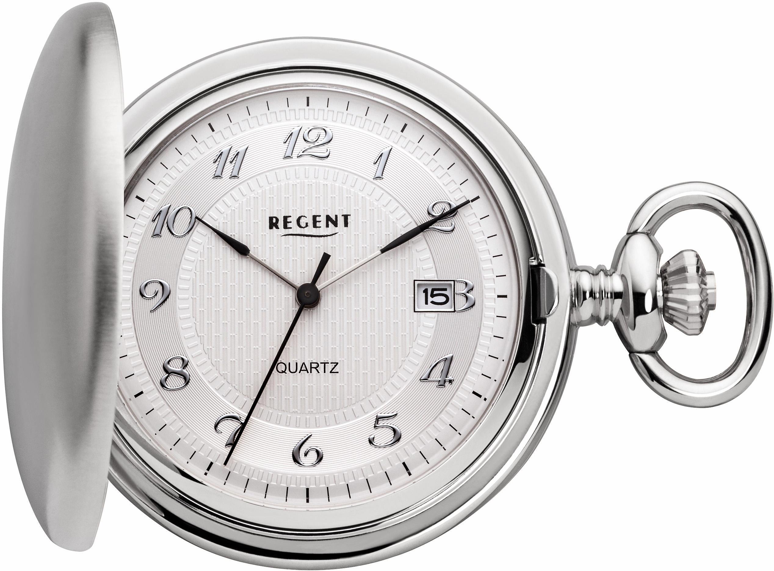 Regent Taschenuhr »11380004«, (Set, 2-tlg), inkl. Kette günstig online kaufen