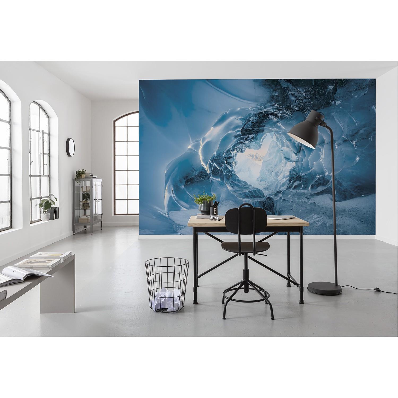 Komar Fototapete »The Eye of the Glacier«, glatt, mehrfarbig, natürlich, be günstig online kaufen