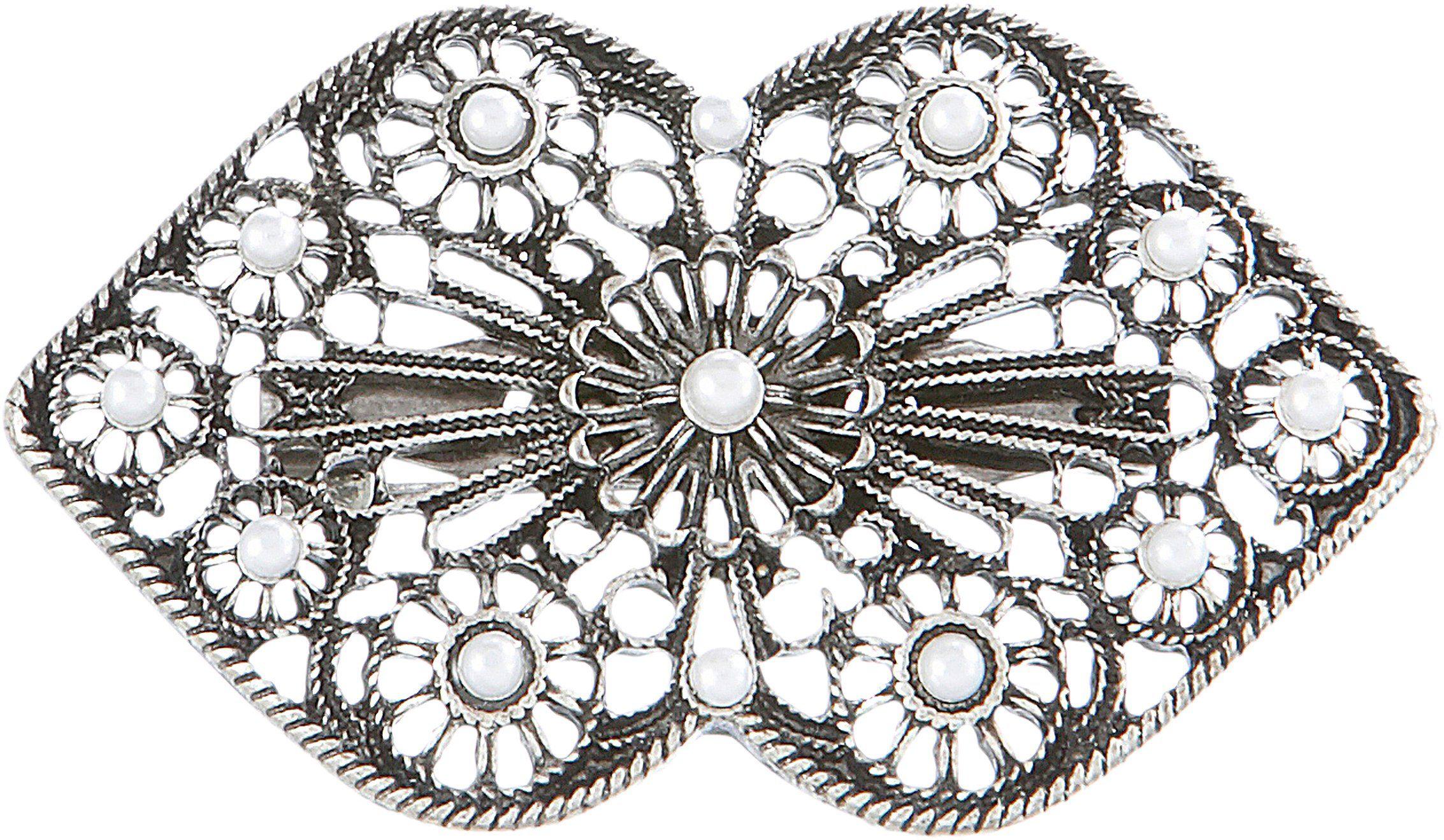 Alpenflüstern Brosche, Trachten mit Perlen günstig online kaufen