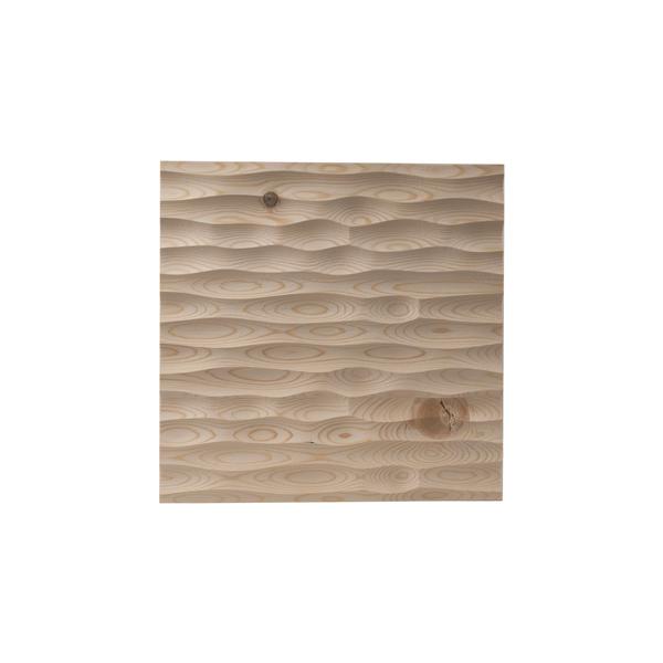 Edle Wandverkleidung Aus Massivholz 33x33 Cm - Echte Handarbeit günstig online kaufen