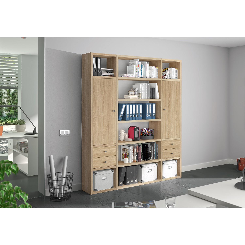 home24 Aktenregal-Kombination Emporio VI günstig online kaufen