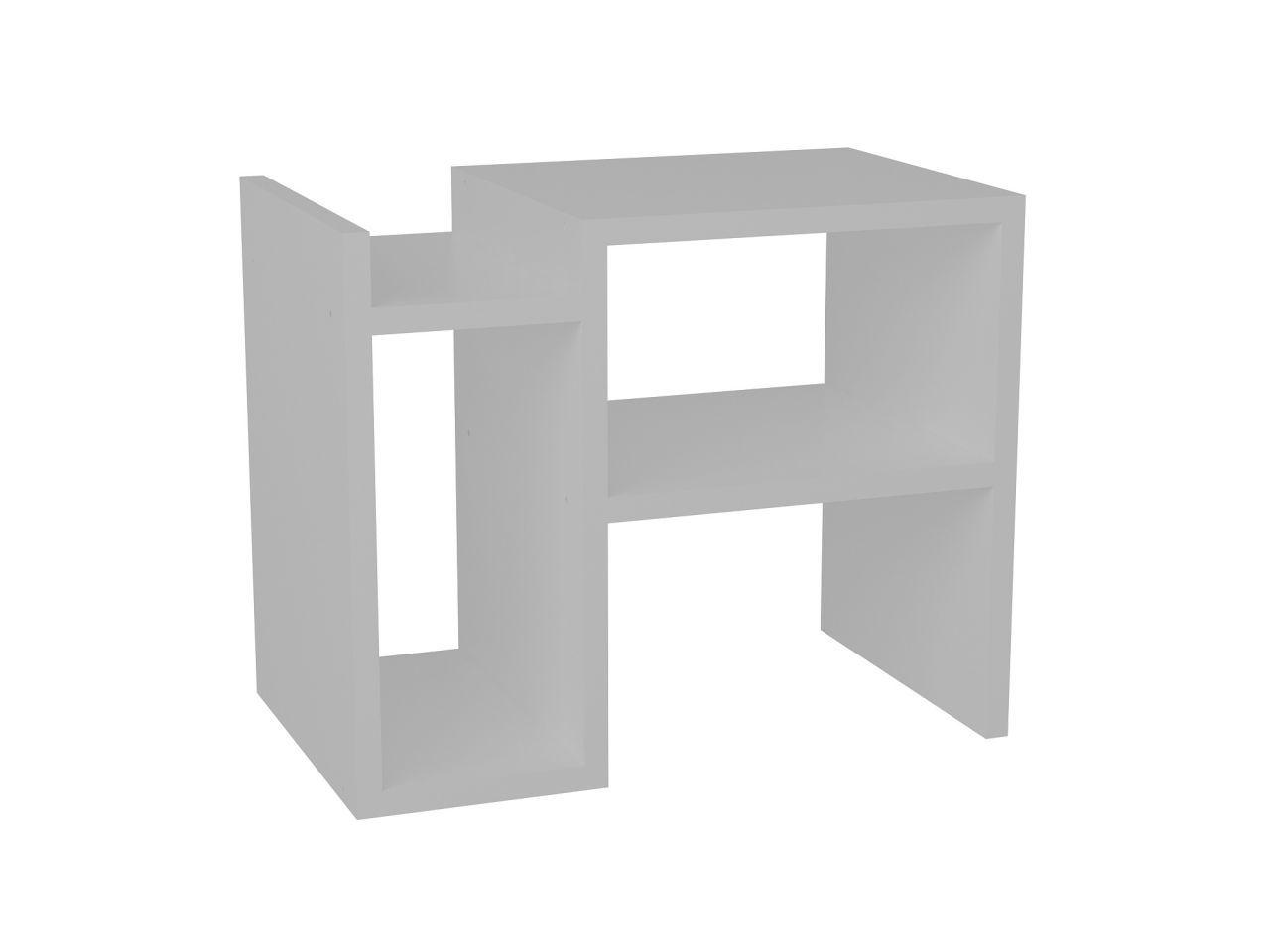 Beistelltisch Piyon Weiß günstig online kaufen