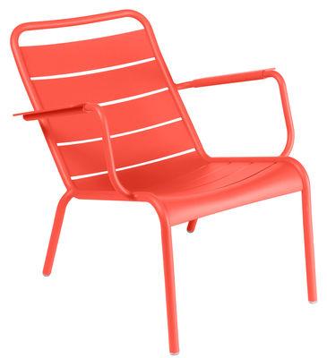Luxembourg Lounge Sessel - Fermob - Rot günstig online kaufen