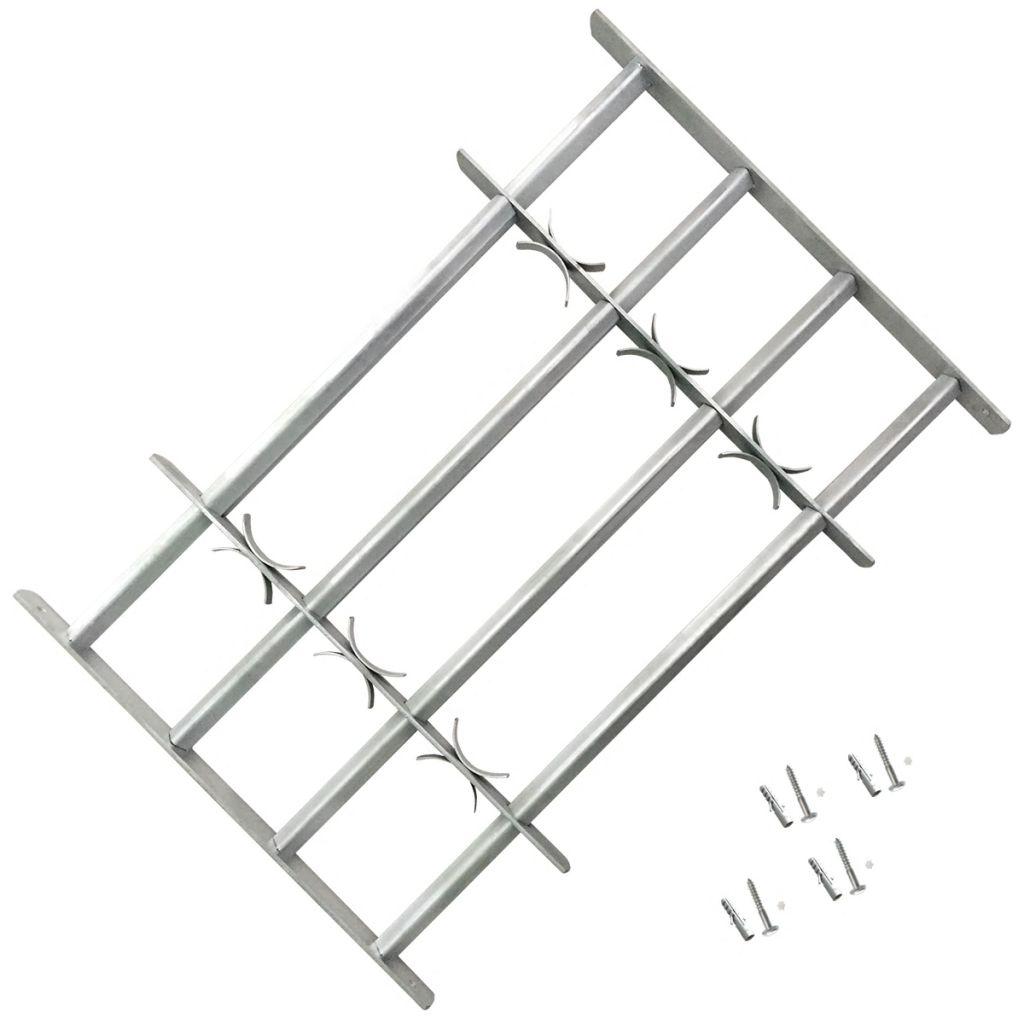 Fenstergitter Verstellbar Mit 4 Querstäben 700-1050 Mm günstig online kaufen