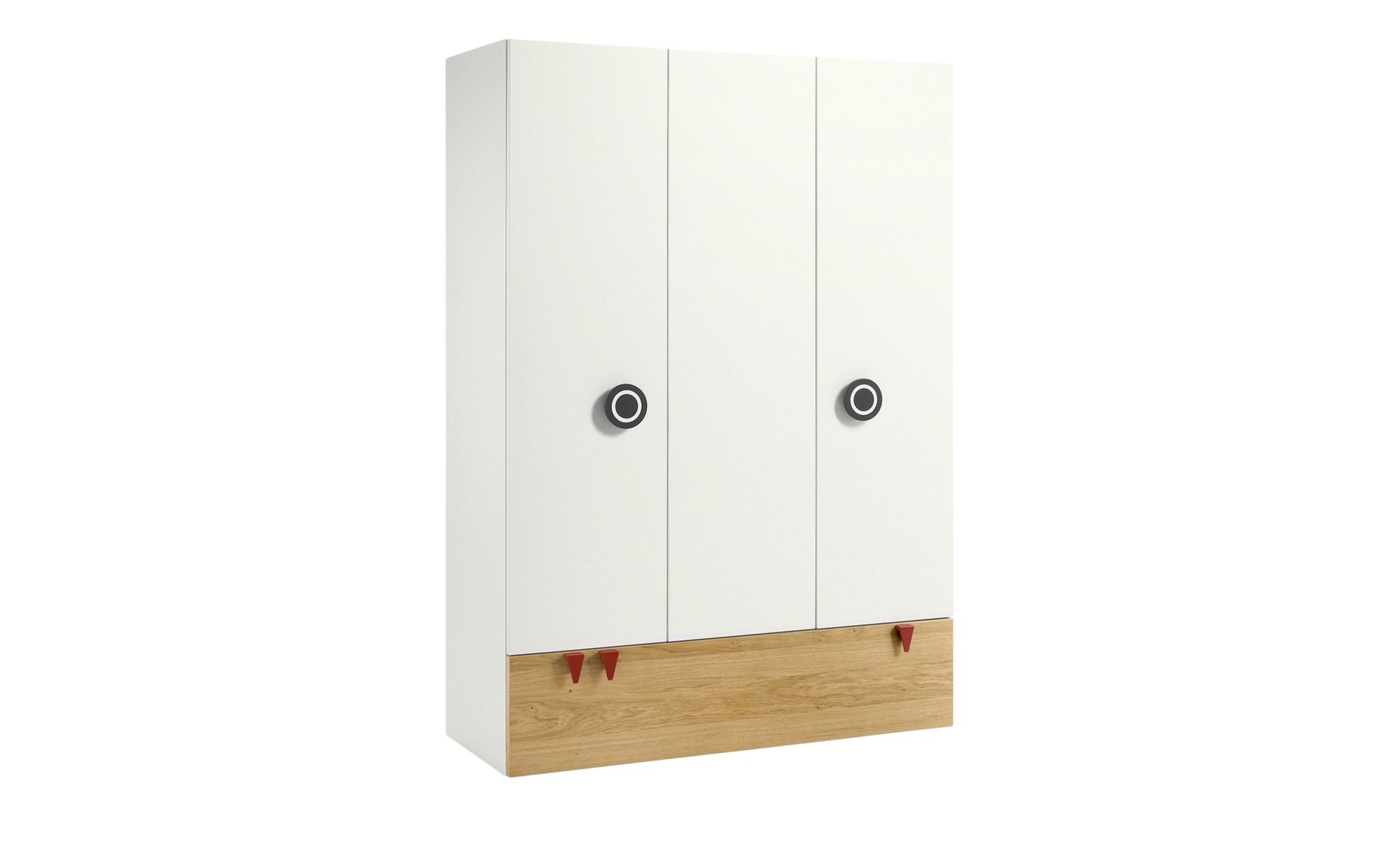 now! by hülsta minimo Kleiderschrank 3-türig  Minimo - holzfarben - Baby > günstig online kaufen