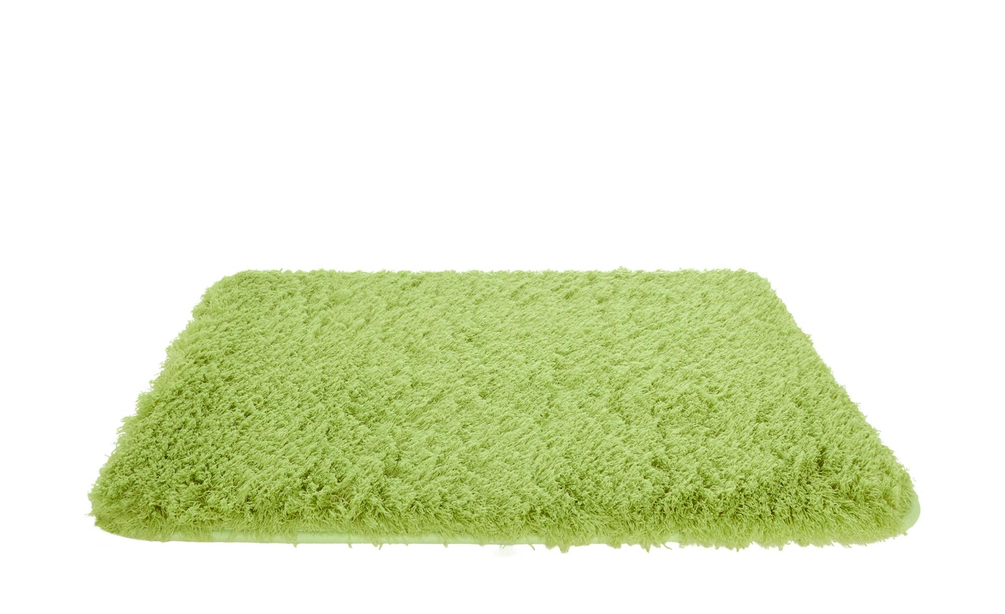 HOME STORY Badteppich - grün - 100% Polyester - Sconto günstig online kaufen