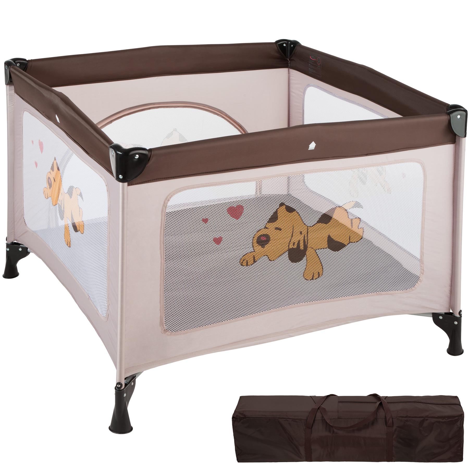 Baby Laufstall Tommy Junior braun günstig online kaufen