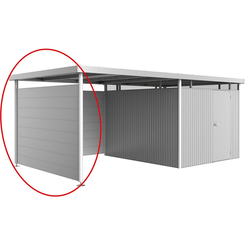 Biohort Seitenwand für Seitendach bei Gerätehaus HighLine Gr. H3 Dunkelgrau günstig online kaufen