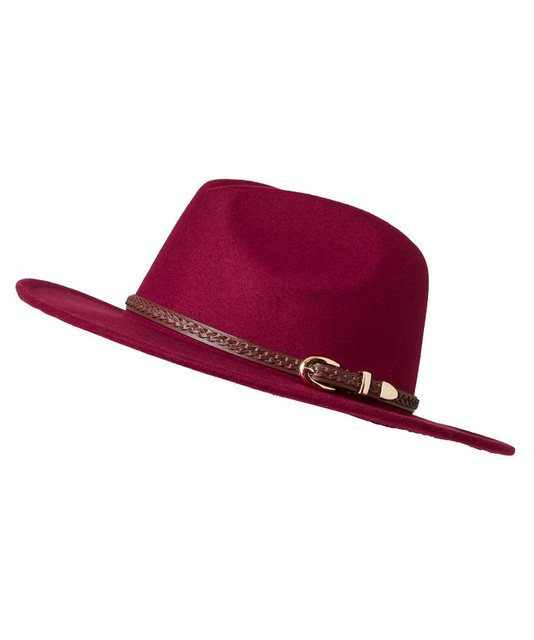 sheego by Joe Browns Filzhut mit geflochtenem Gürtel als Hutband günstig online kaufen
