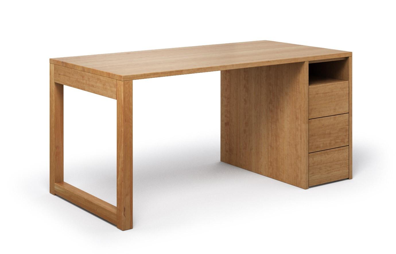 Schreibtisch Cantus aus Kirschbaum günstig online kaufen