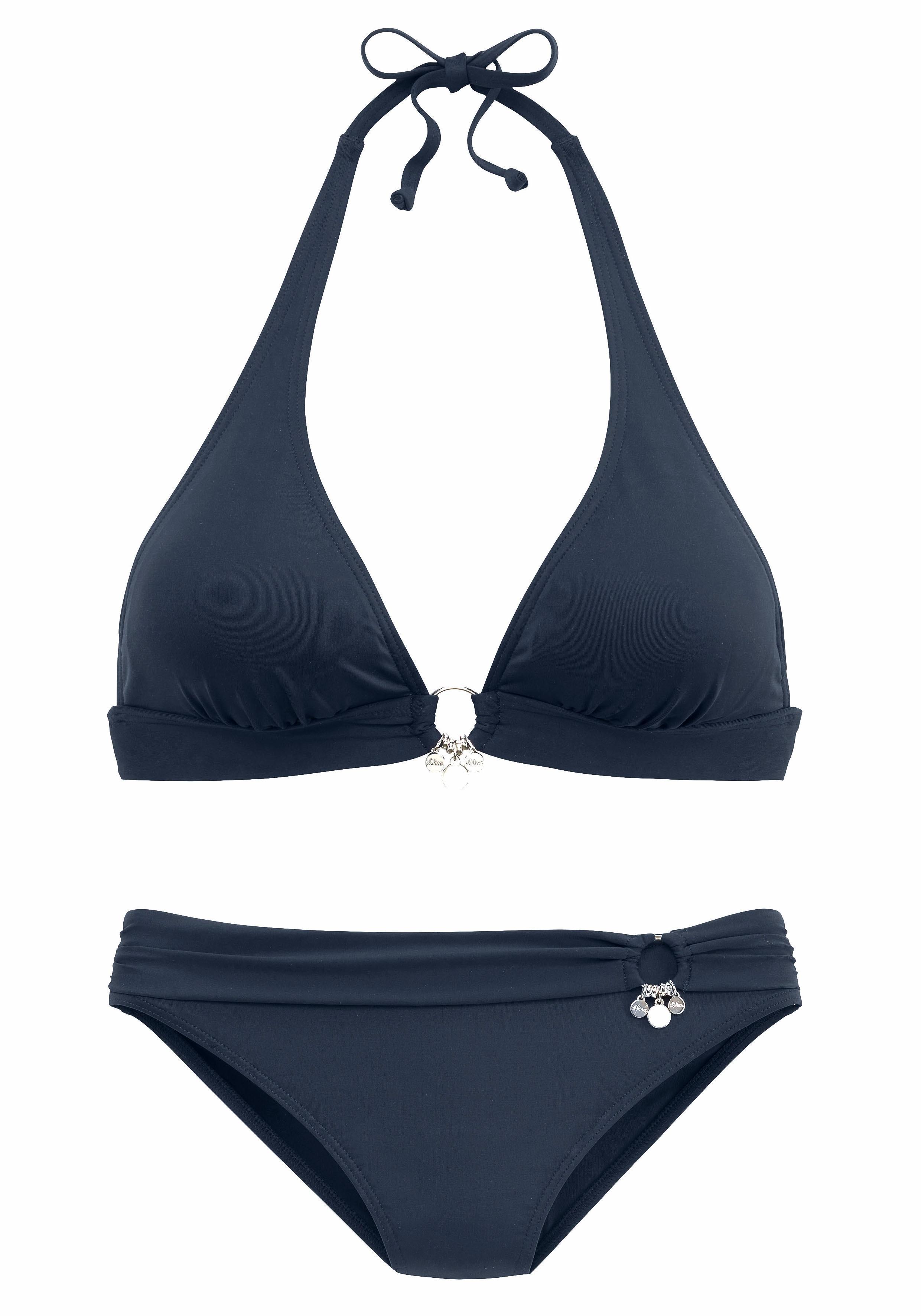 s.Oliver Triangel-Bikini mit Accessoires günstig online kaufen