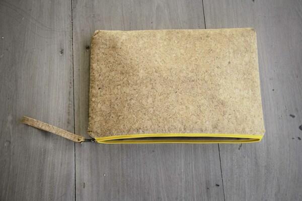 """Laptop Case 13"""" Inch/ Zoll- Vegan, Hülle Aus Kork Macbook Tasche -Yz günstig online kaufen"""
