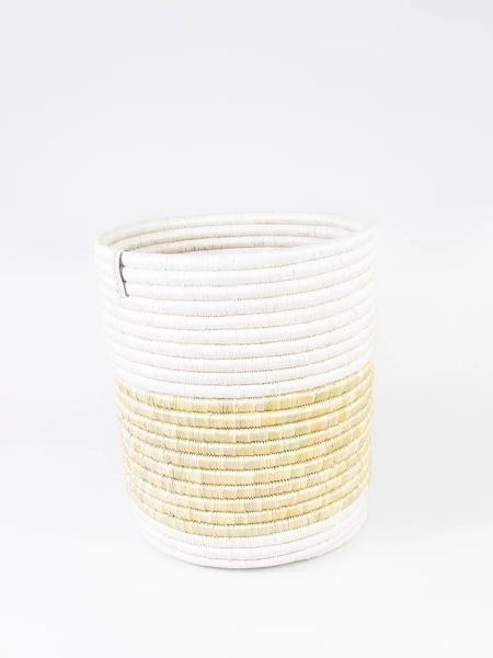 Katakuru Pflanz- & Aufbewahrungskorb - Braun/gelb/natur/weiß günstig online kaufen