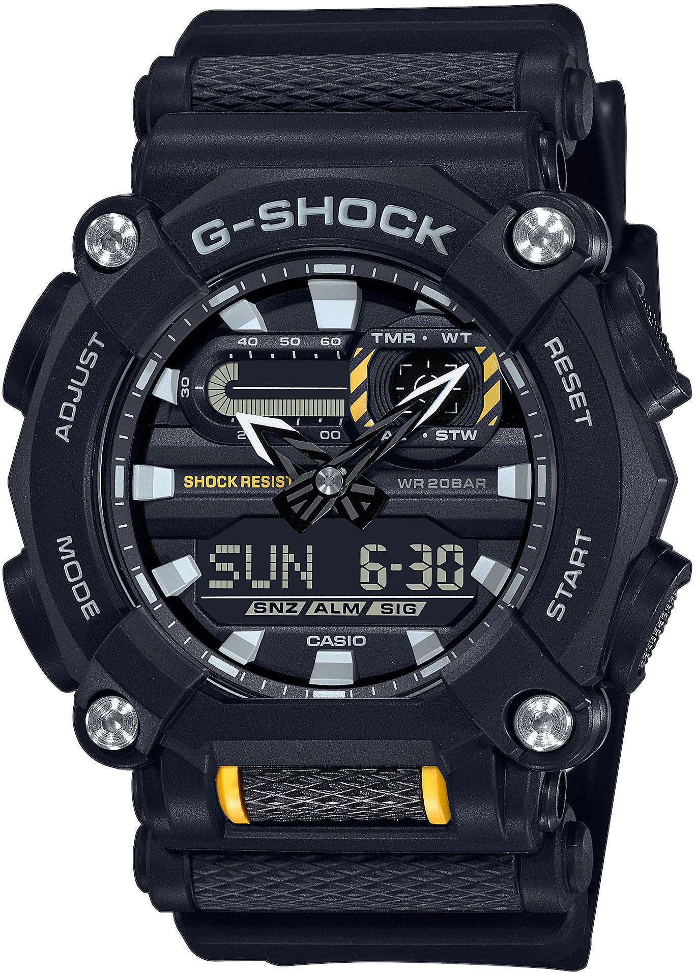 CASIO G-SHOCK Chronograph GA-900-1AER günstig online kaufen