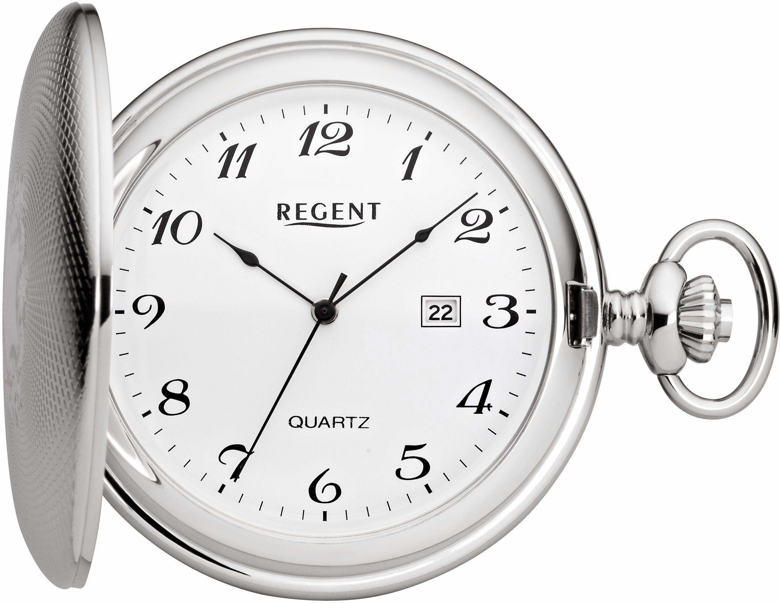 Regent Taschenuhr »11380048«, (Set, 2-tlg), inkl. Kette günstig online kaufen