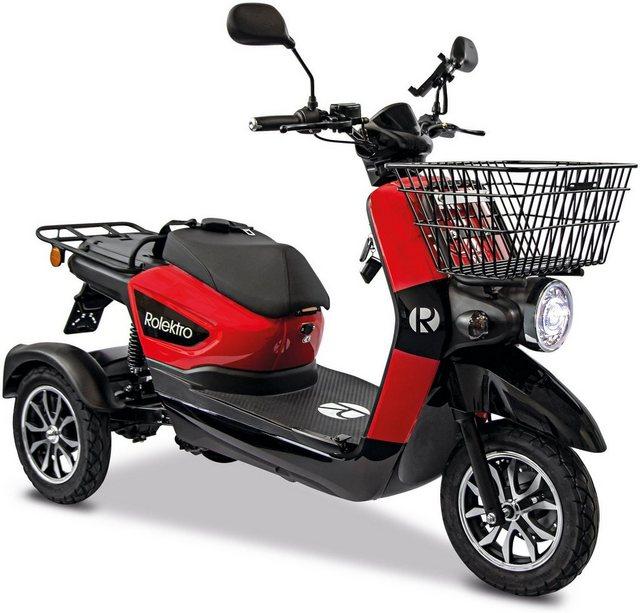 Rolektro Elektromobil »Rolektro E-Carrier 25 V.3 Lithium ohne Koffer«, 1000 günstig online kaufen